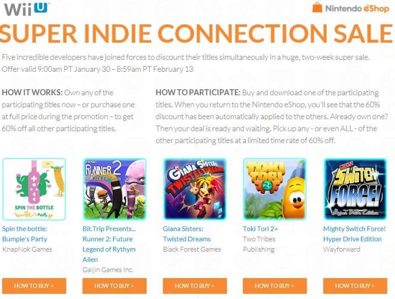 Nintendo eShop: 60% de descuento en juegos indie