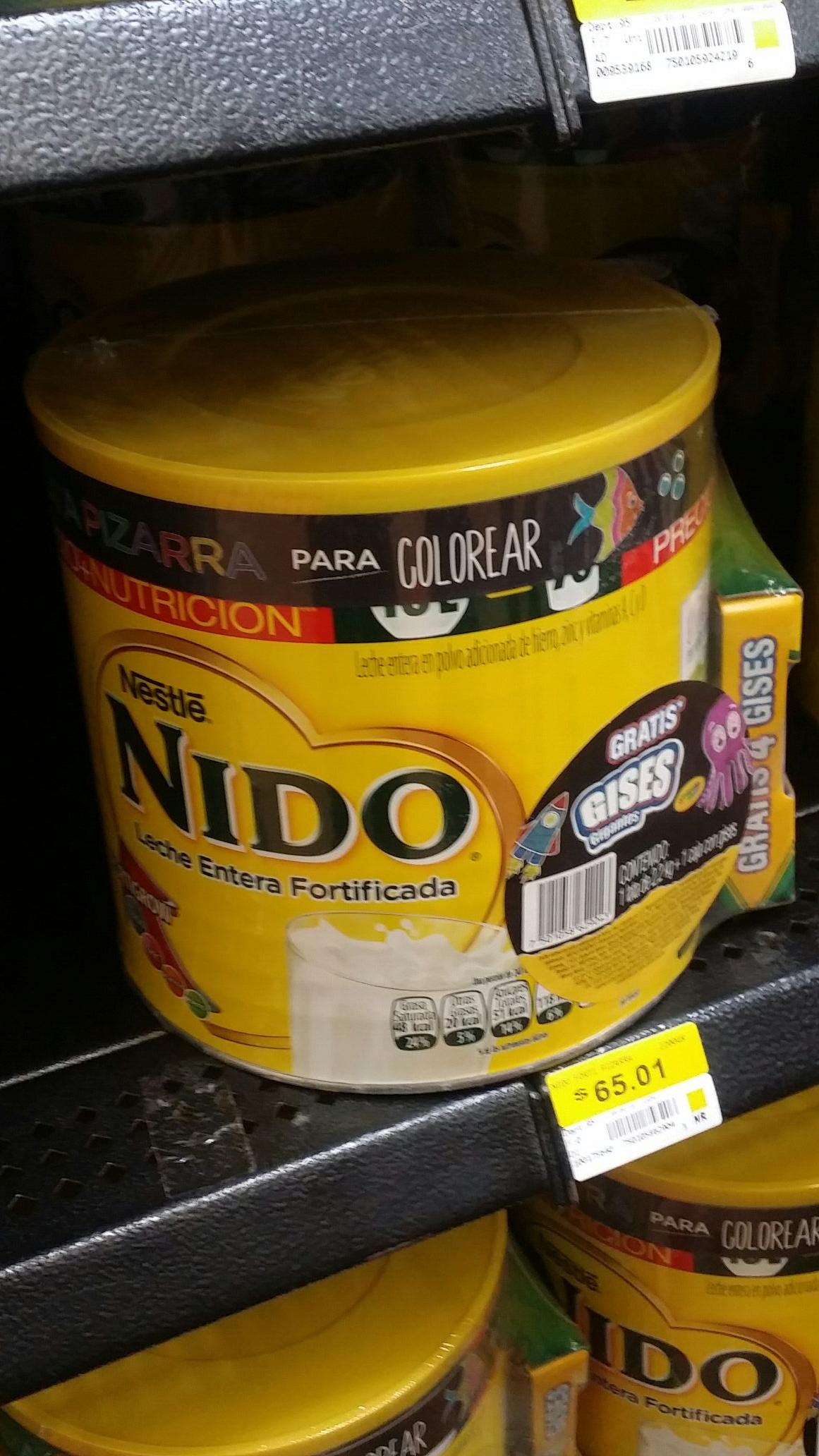 Walmart: leche nido 2.2kg