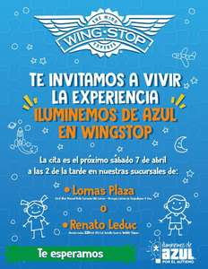 WINGSTOP INCLUYENTE: POSTRE GRATIS