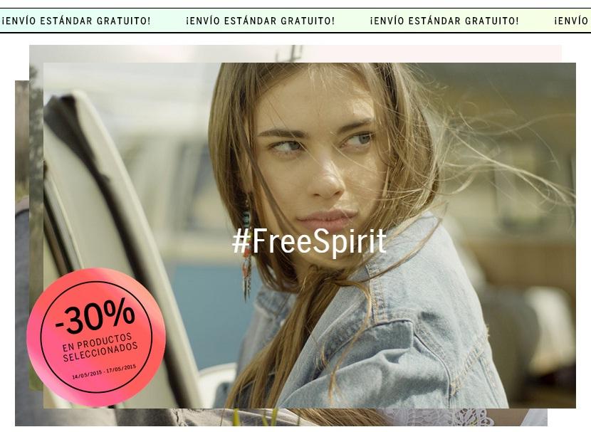 -30% en productos seleccionados en Bershka del 14 al 17 de Mayo