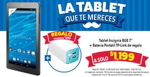 Best Buy: powerbank de 10,400 mAh comprande tablet Insignia a $1,199