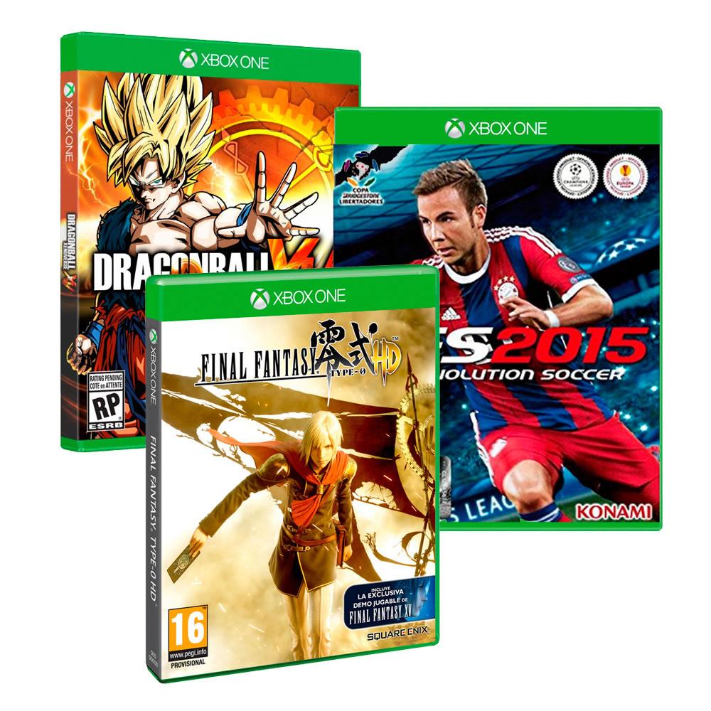 Walmart: Dragon ball Xenoverse + Final Fantasy Type-0 HD + PES 2015 $1,990