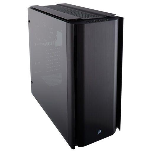 CyberPuerta: Corsair Obsidian 500D, gabinete mid tower.