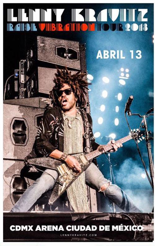 Groupon: boletos para el concierto de Lenny Kravitz CDMX desde $271