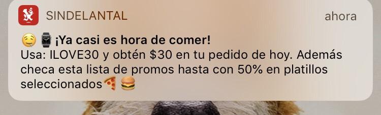 SinDelantal: Cupón $30 pesos de descuento