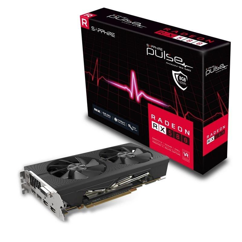 Cyberpuerta: RX 580 8GB Sapphire Pulse