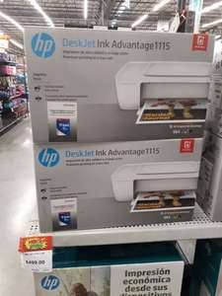Bodega Aurrerá: Impresora HP a $499