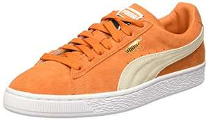 Amazon: Tenis Puma color naranja de $1,499 a $749