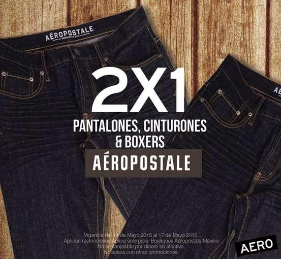 Aéropostale: 2x1 en ropa de mujer y en pantalones, cinturones y bóxers de hombre