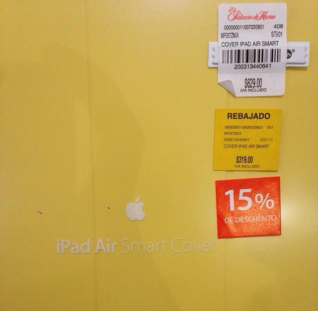 El palacio de hierro: Cover iPad Air a $271