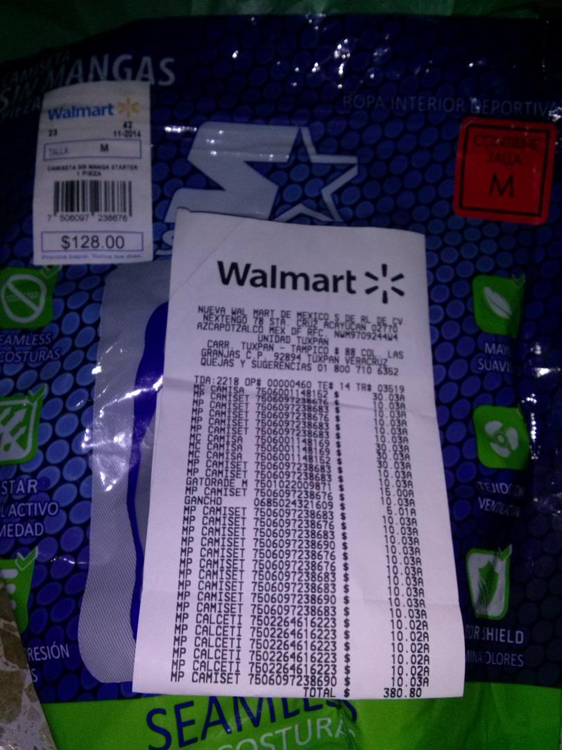Walmart: camisetas Starter sin mangas en liquidación