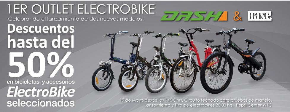 Outlet Elektrobike: hasta 50% de descuento de bicicletas el 19 de mayo (DF)