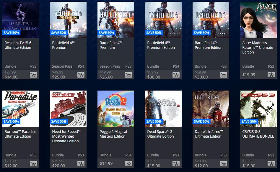 PSN Store: Extended Play Sale!  Ediciones Premium, Bundles y Season Passes
