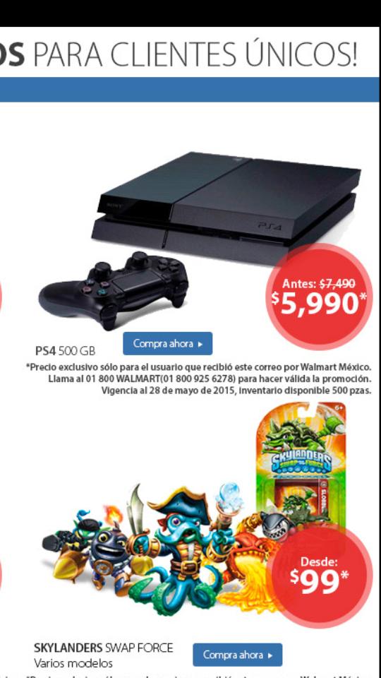 Walmart: PS4 a $5,990