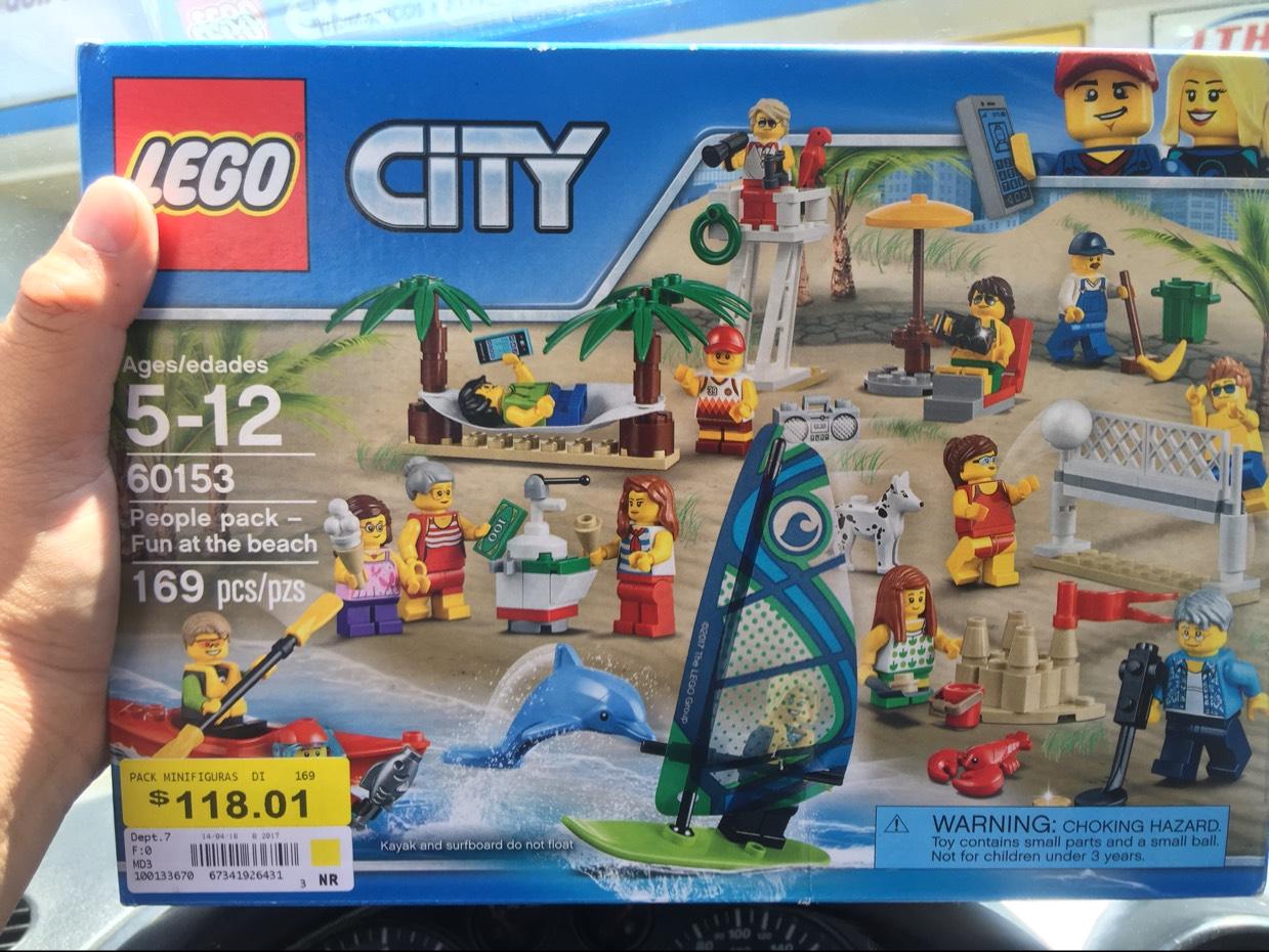 Bodega Aurrerá: lego city 169 piezas