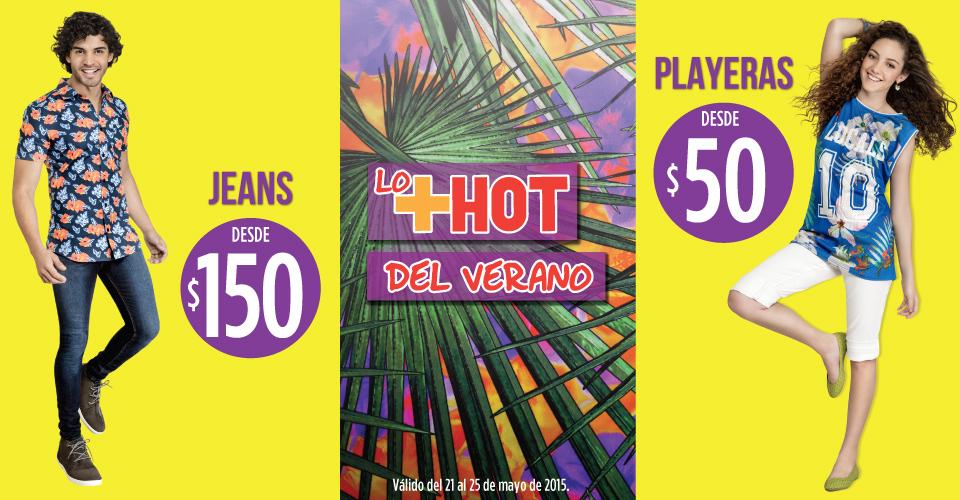 Suburbia: Jeans desde $150 y playeras desde $50