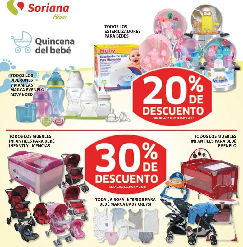 Soriana: quincena del bebé