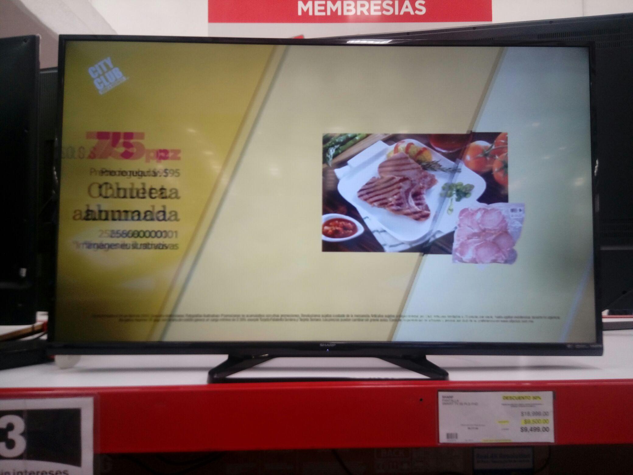 City Club: SHARP smart tv FHD 55 pulgadas