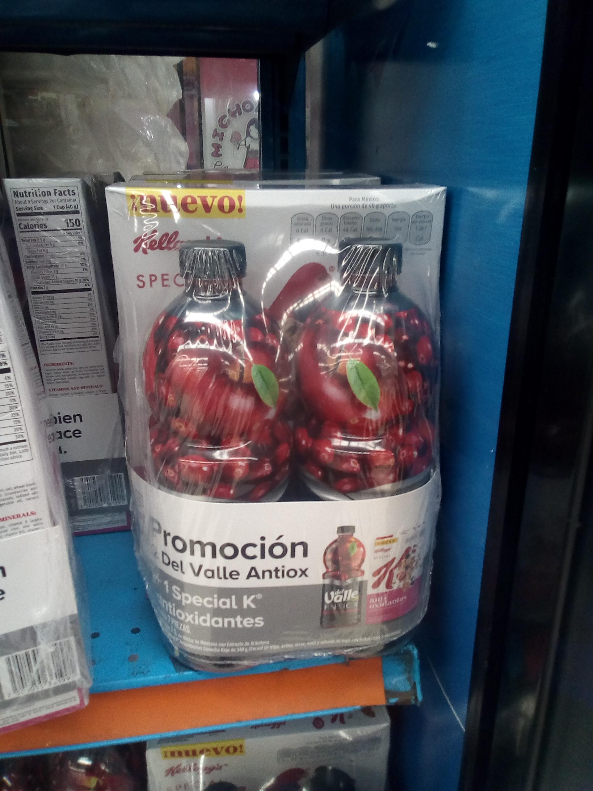 Comercial Mexicana: Combo antioxidante jugos, cereal
