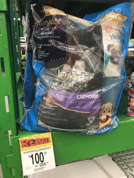 Bodega Aurrerá Mzt: croquetas Ganador Premium Cachorro 4 Kg