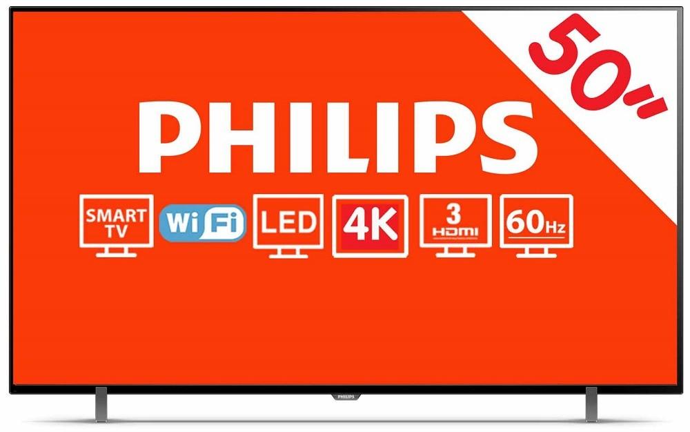 """HEB: Pantalla LED Philips 50"""" 4K Chromecast"""