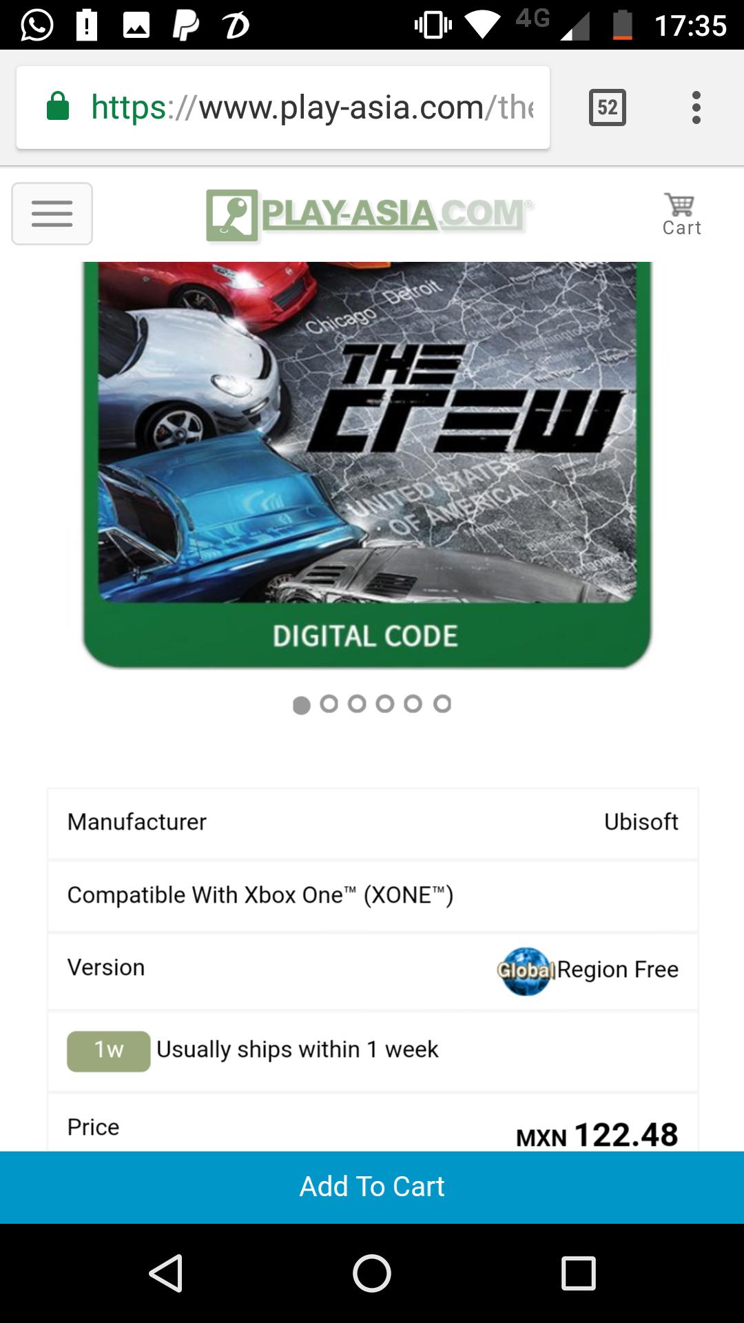 Play-Asia.com: The Crew para Xbox One