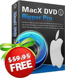 MacX DVD Ripper Pro gratis para Mac o Windows