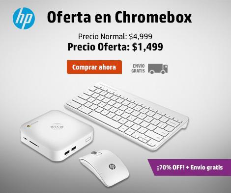 Tienda HP: Chromebox $1,499, 12 meses sin intereses y envío gratis
