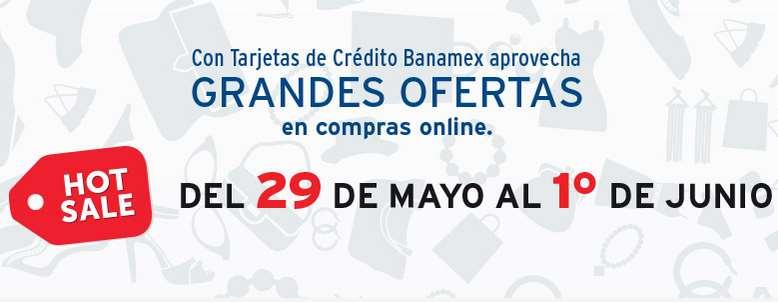 Ofertas y promociones de Hot Sale 2015 con Banamex