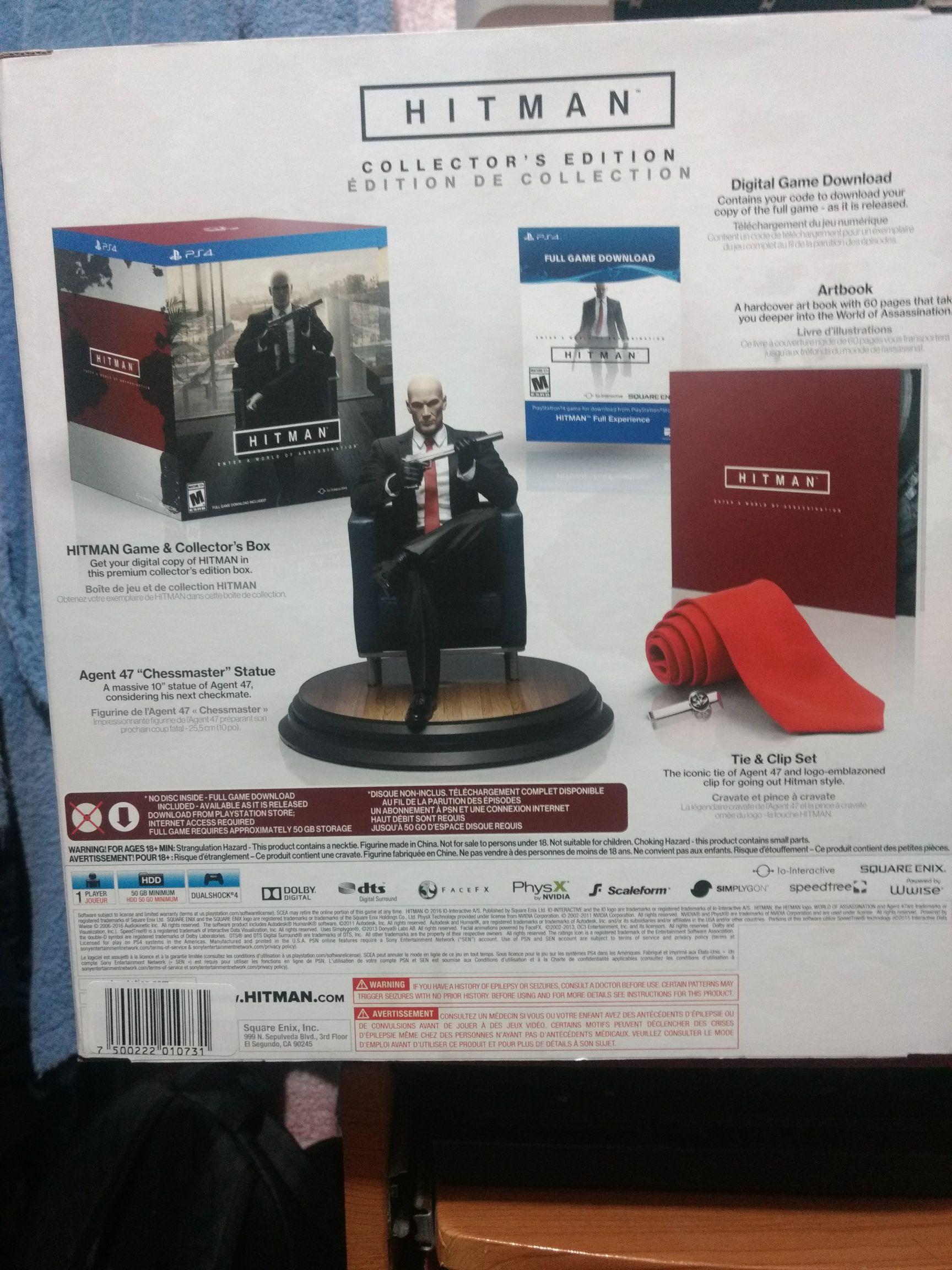 Mixup: Hitman Collector's Edition para PS4