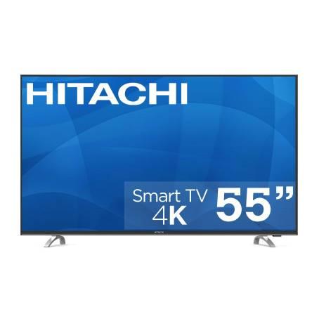 "Sam's Club: Pantalla Hitachi 55"" UHD 4K HDR 10 y mas"