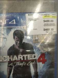 Sam's Club: uncharted 4 PS4