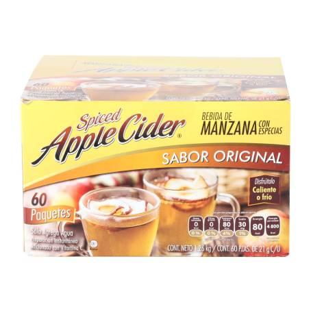 Sam's Club en linea: Polvo para Bebida Apple Cider Sabor Manzana 60 pzas  Antes: $149 Ahorras: $110