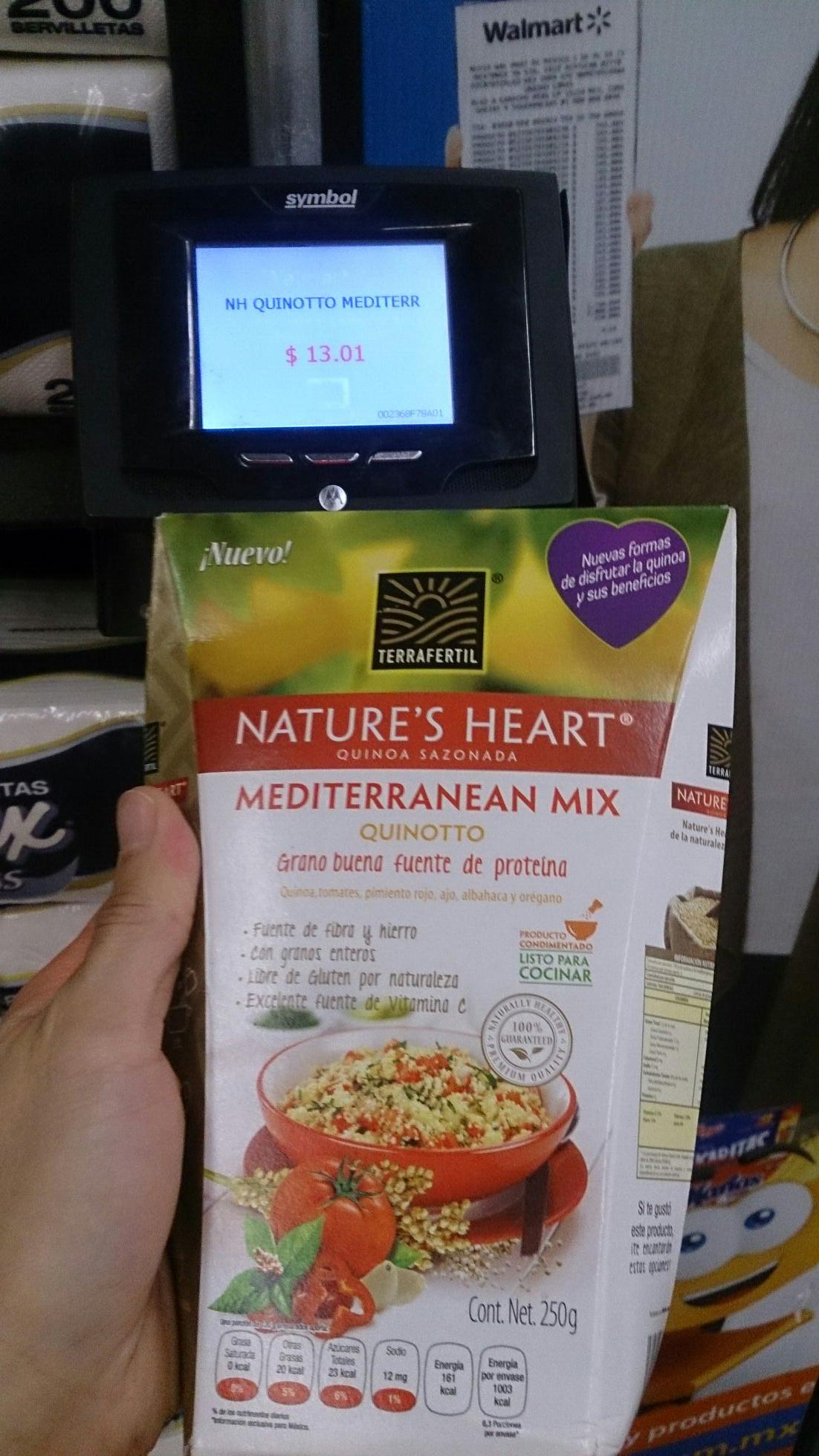 Walmart: Quinoa sazonada y otros