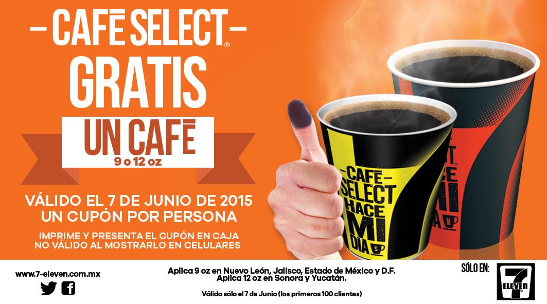 7 Eleven: café gratis por votar el 7 de junio (con cupón)