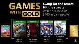 Xbox: Games With Gold Mayo