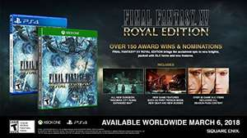 Amazon: ffxv royal edition para Xbox One y PS4
