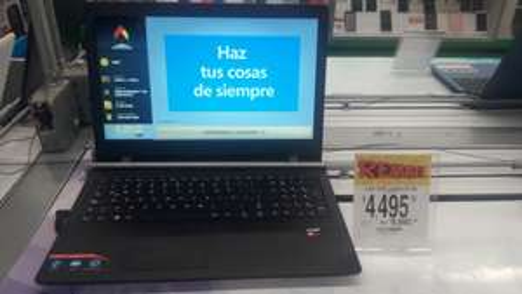Bodega Aurrera: Laptop Lenovo ideapad 110-15acl