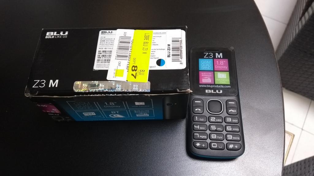 Walmart Patria Zapopan: Celular Blu Z3 M a $119.01
