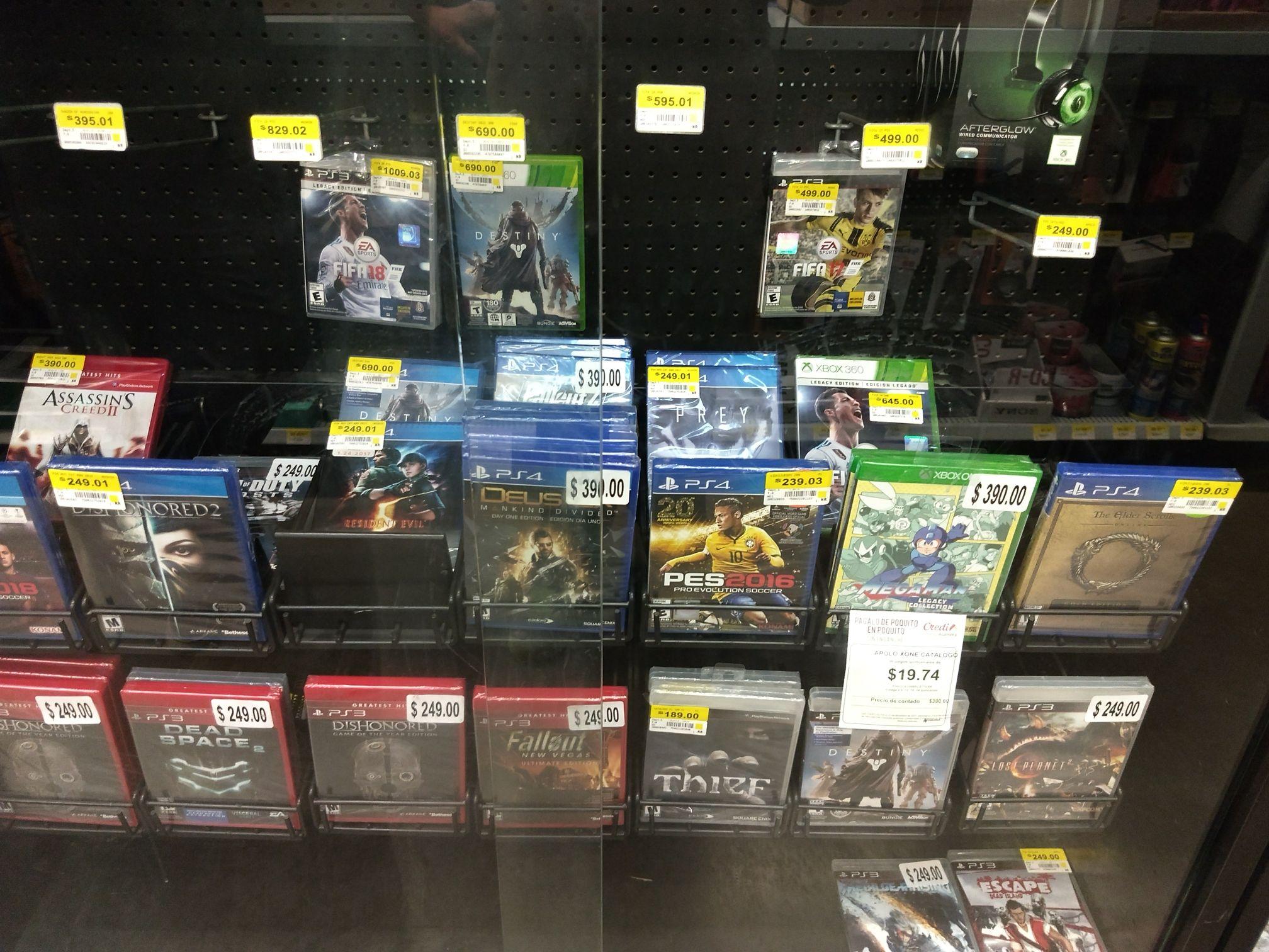 Bodega Aurrerá: Varios juegos PS4 por menos de $250 (ej. Dishonored 2)