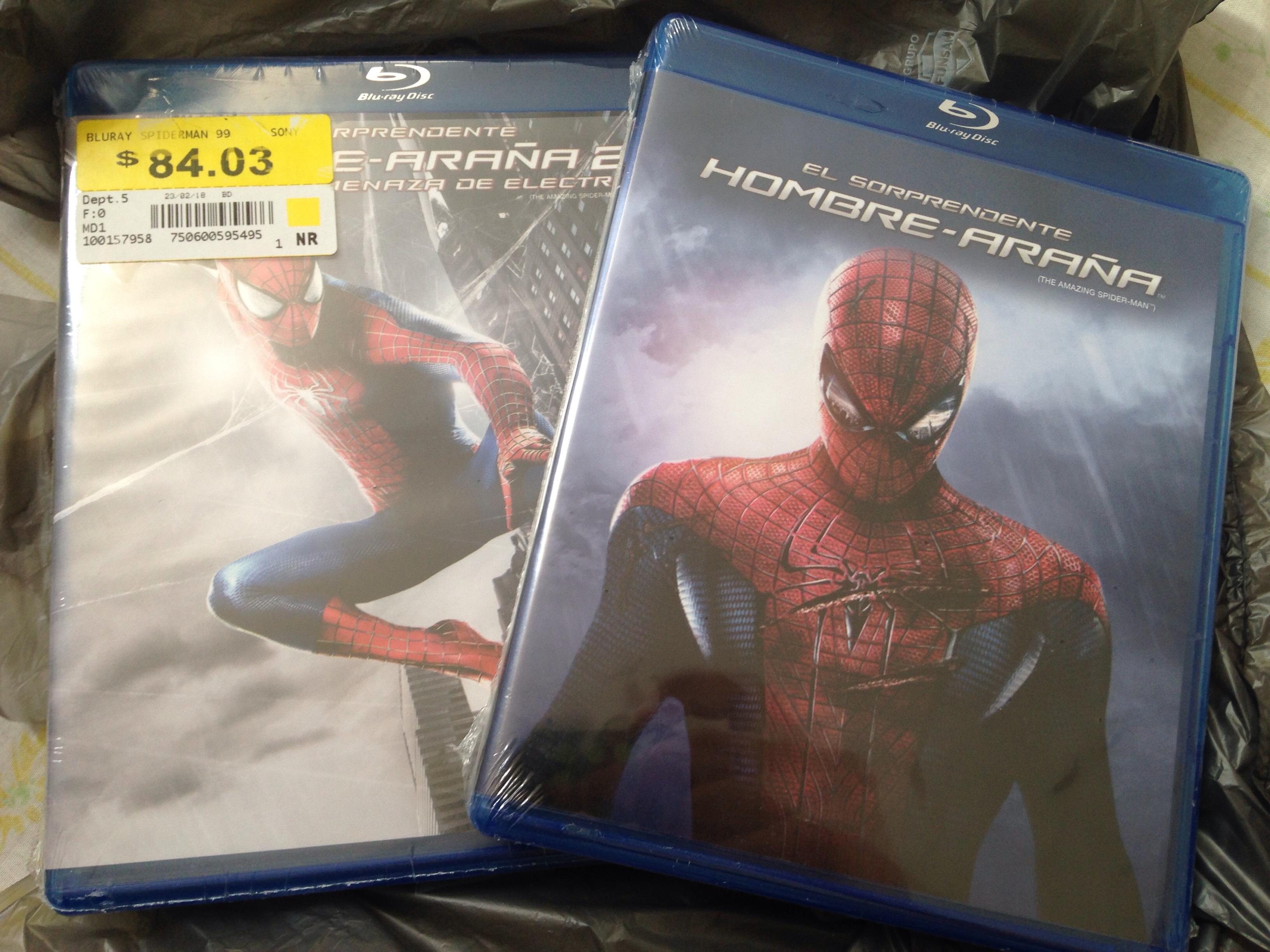 Walmart: Blu-rays en su última liquidación