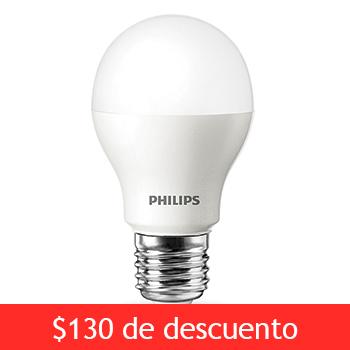 Costco: Paquete de 4 focos LED Philips $399