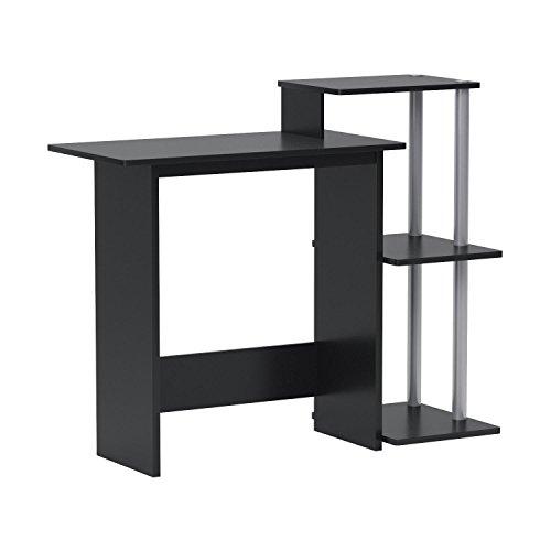 Amazon: Furinno 11192B (99797B) Efficient Computer Desk, Black/Grey