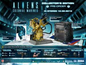 Chedraui: Aliens Colonial Marines Collector's Edition para PS3/Xbox 360 a $299