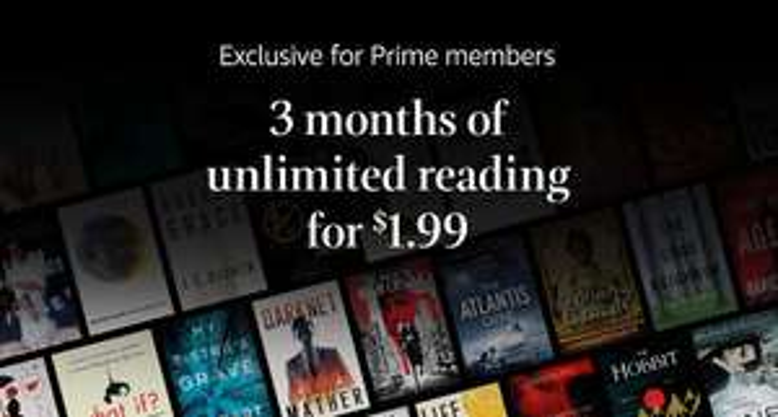 Amazon USA: 3 Meses Kindle Unlimited