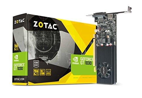 Amazon: ZOTAC ZT-P10300A-10L - Tarjeta de video GeForce GT 1030 2GB GDDR5, 64-bit, SL-DVI-D, HDMI 2.0b, PCI Express 3.0, Consumo 30W