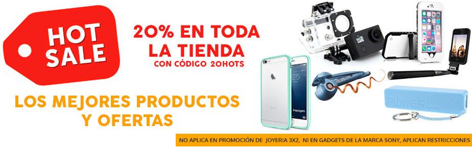 Promociones de Hot Sale en Brandtrendy: 20% + powerbank de regalo en cualquier compra