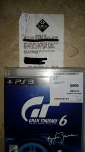 Sam's Club: Gran Turismo 6 para PS3 en $399