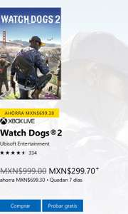 Microsoft Store: Watchdogs 2 Xbox One