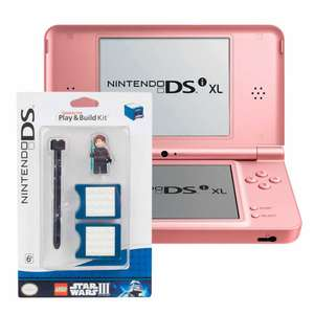 Hot Sale en Walmart: Nintendo DSI XL Rosa + Lego Star Wars Play Kit $999